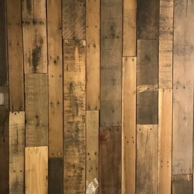Pallet Wall Made Simple