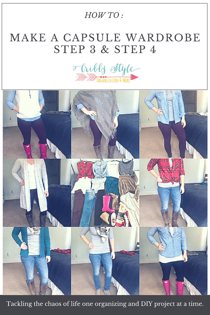 How to Create Your Wardrobe Capsule Step 3 & Step 4