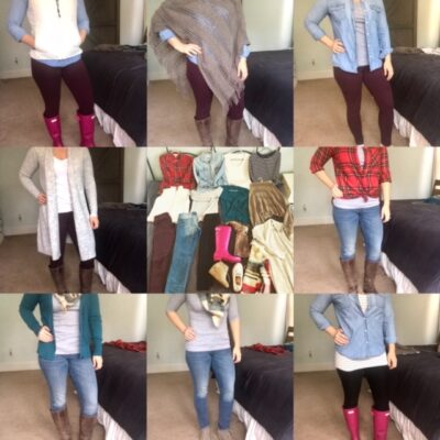 Capsule wardrobe one year later