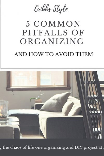 Organization, storage solutions, organizing mistakes.