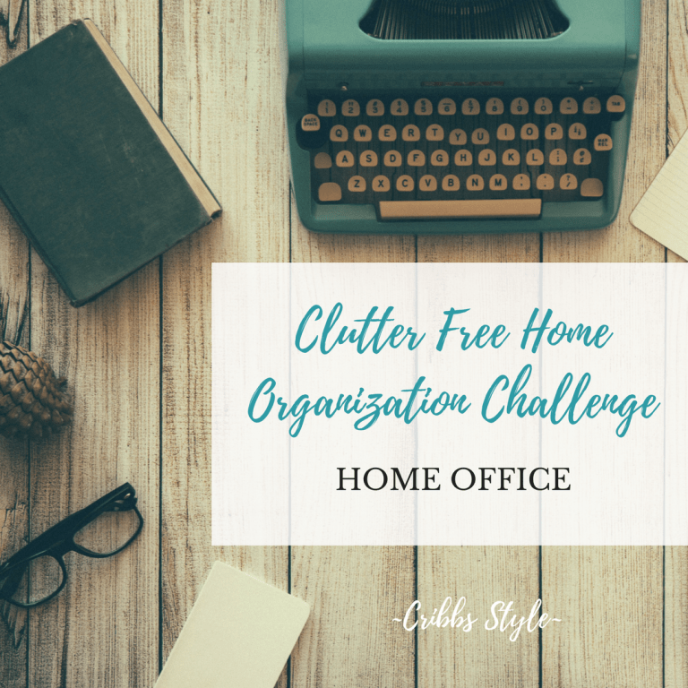 Clutter Free Home Organization – Home Office