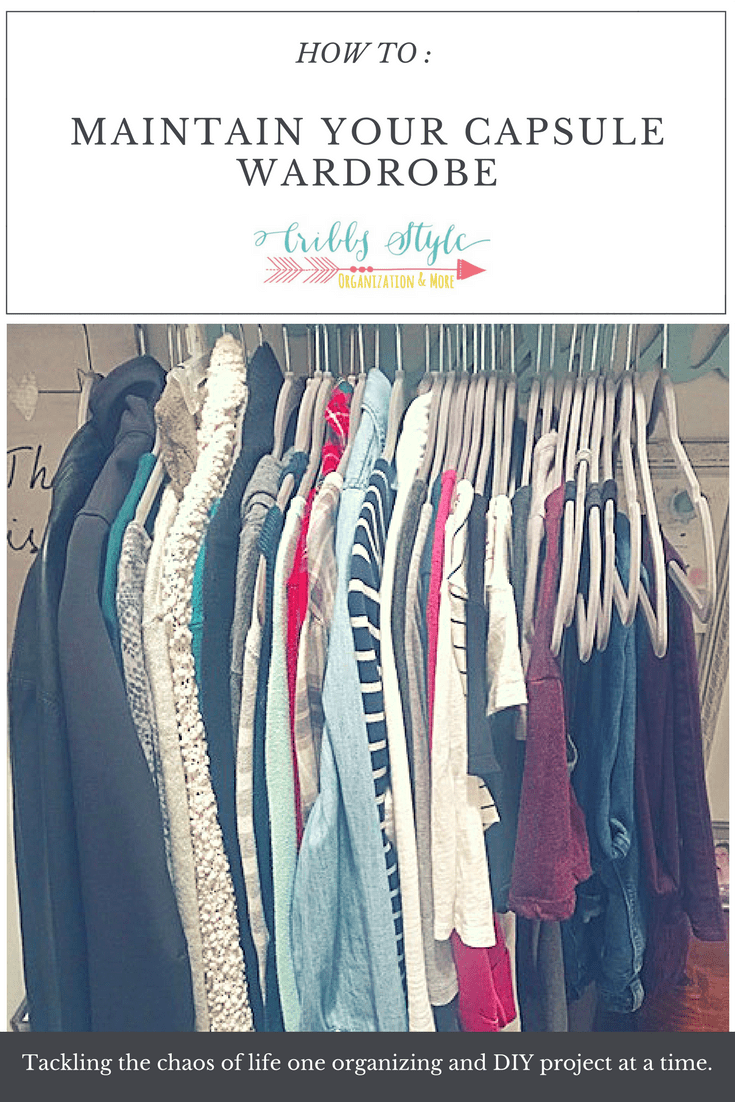 How to Create a Capsule Wardrobe Step 5 and Final Thoughts