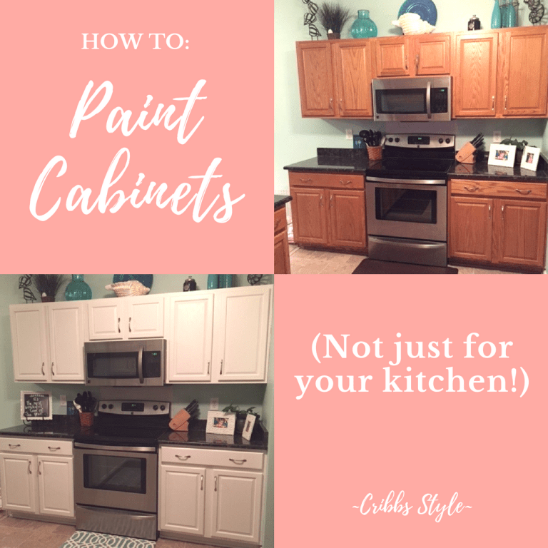 How to Paint Cabinets (Not Just For Your Kitchen)