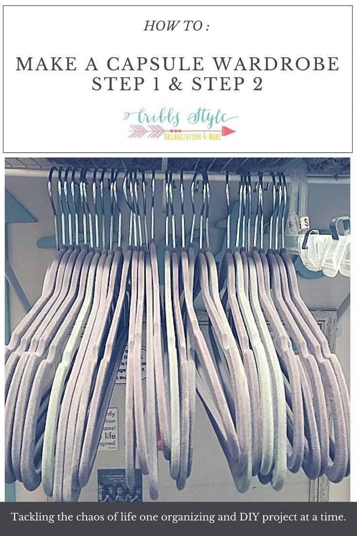 How to Create Your Wardrobe Capsule: Step 1 and Step 2