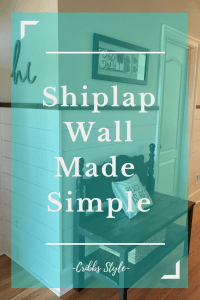 Shiplap wall, farmhouse, rustic, pantry foyer
