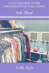 Closet organization, storage solution, kids closets, kid closet organization