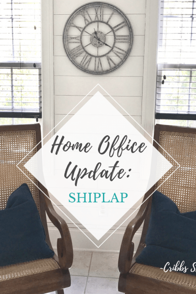 Home Office: Shiplap…Round 3