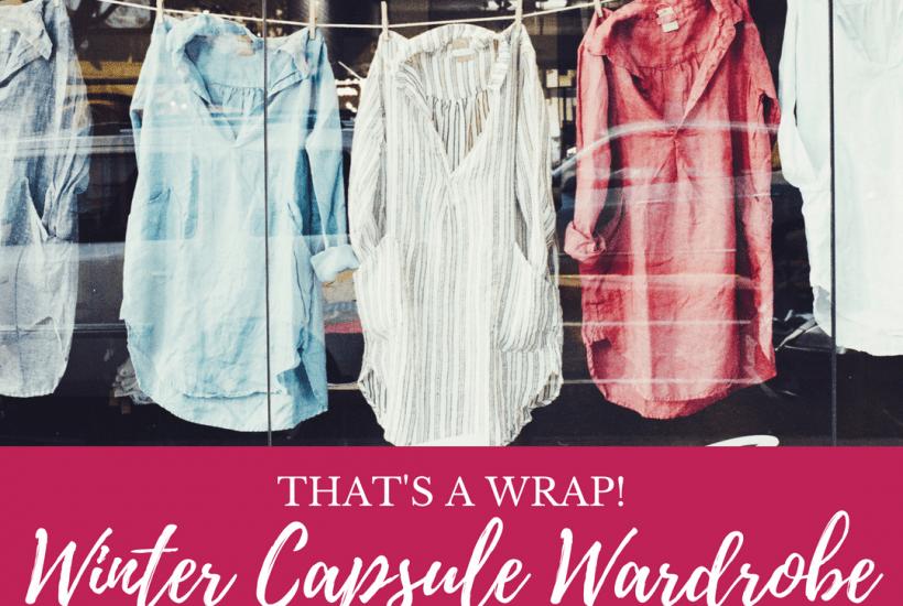 Wardrobe capsule, capsule wardrobe