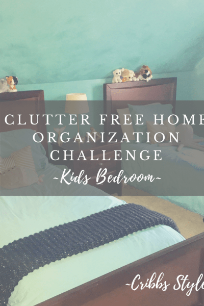 Clutter free kids rooms, organization