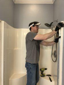 Master bathroom renovation, master bathroom demo