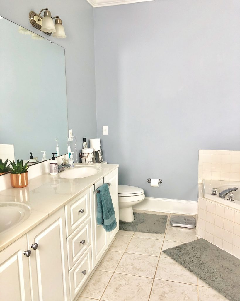 ORC, One room challenge, Jeffrey Court, Master Bathroom, Master Bathroom Refresh