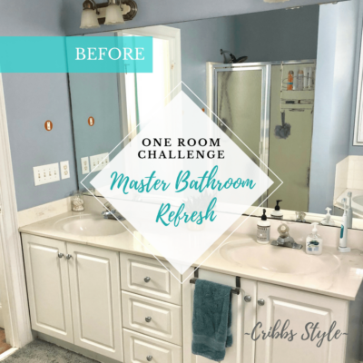 One Room Challenge – Master Bathroom