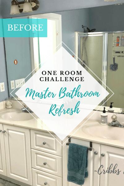 One Room Challenge – Master Bathroom