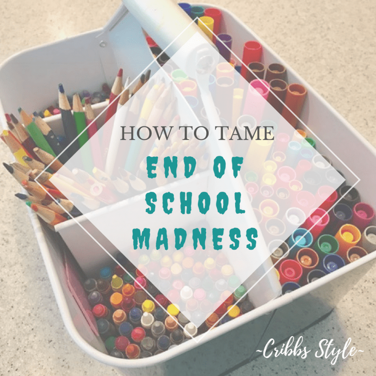 End of the School Year Madness