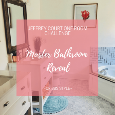 One Room Challenge – Master Bathroom Reveal