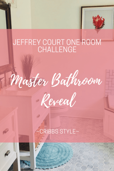 One Room Challenge – Master Bathroom Reveal
