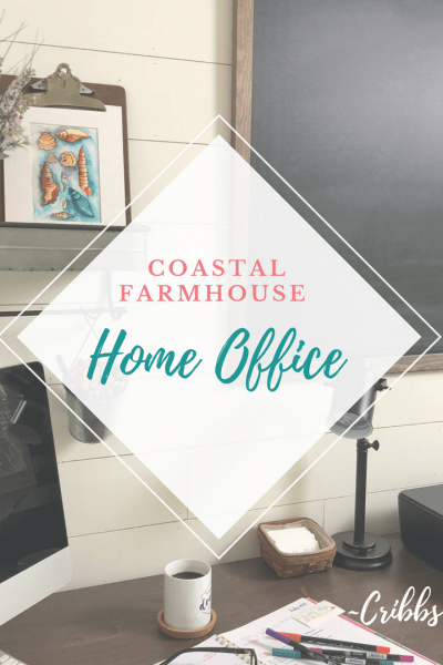 Coastal Farmhouse, home office