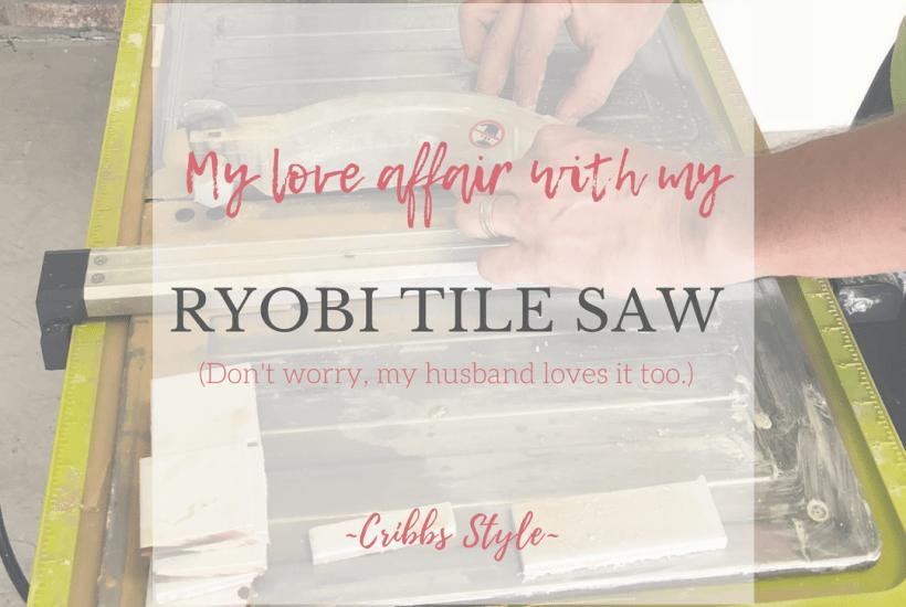 Ryobi, Tile Saw