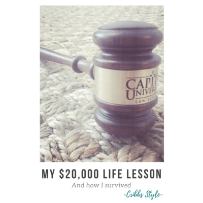 My life lesson cost me $20,000, but what I learned is invaluable.