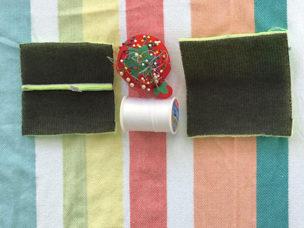 Easy DIY Up-Cycled Koozie Popsicle Holder.