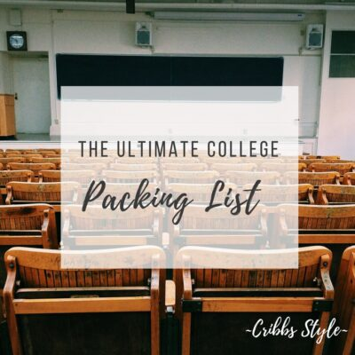 Ultimate College Back to School List, Dorm Essentials, and Adjusting to Dorm Life