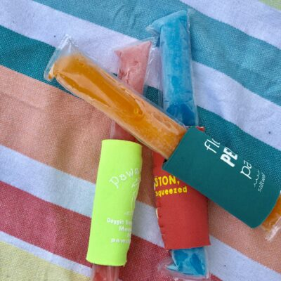 Easy DIY Popsicle Koozie Up-Cycle
