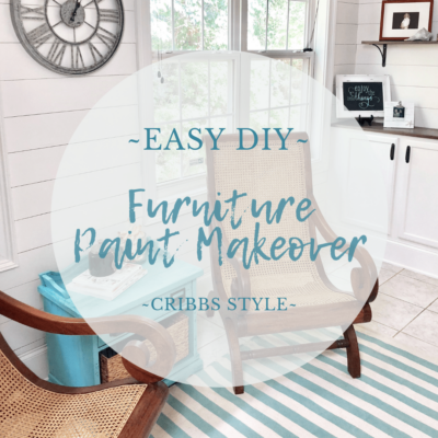 Easy DIY Furniture Paint Makeover