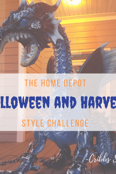 The Home Depot Halloween and Harvest Style Challenge