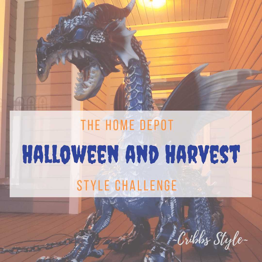 The Home Depot Halloween And Harvest Style Challenge- Creating A Scary Front Porch