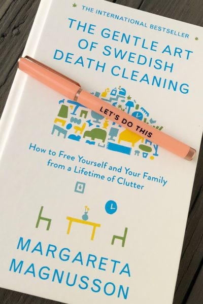 "Organizing Using ""The Gentle Art of Swedish Death Cleaning"""