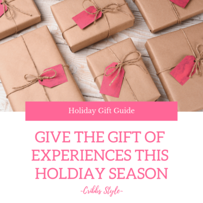 Gift of experiences for the whole family this holiday