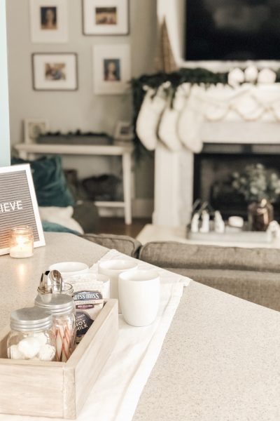 Picking a cozy home perfect for every day and for holiday entertaining