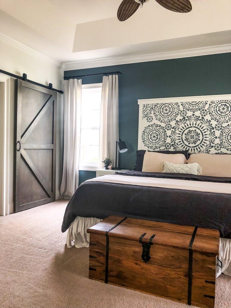 $100 Room Challenge- Master Bedroom Refresh Reveal