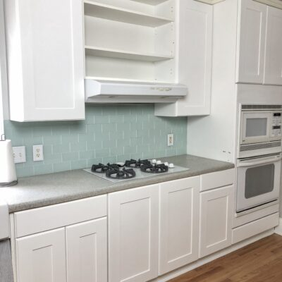Easy DIY Kitchen Cabinet Reface For Under $200