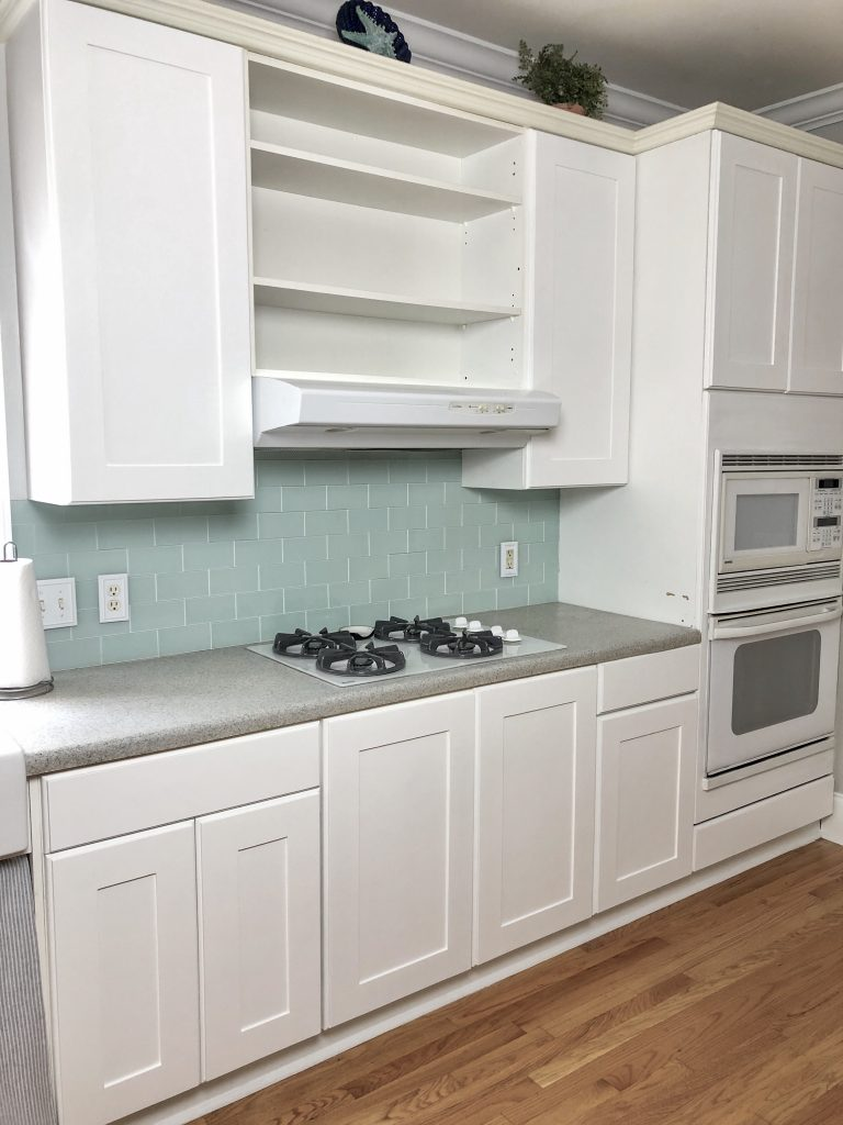 Easy DIY Kitchen Cabinet Reface For Under $200