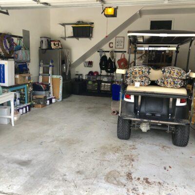 $100 Room Challenge- Garage Floor Refresh Week 1