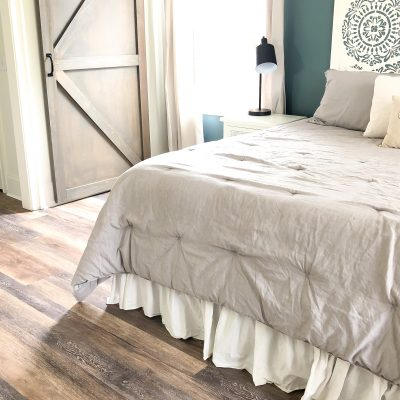 Master Bedroom Flooring- LifeProof Luxury Vinyl Plank