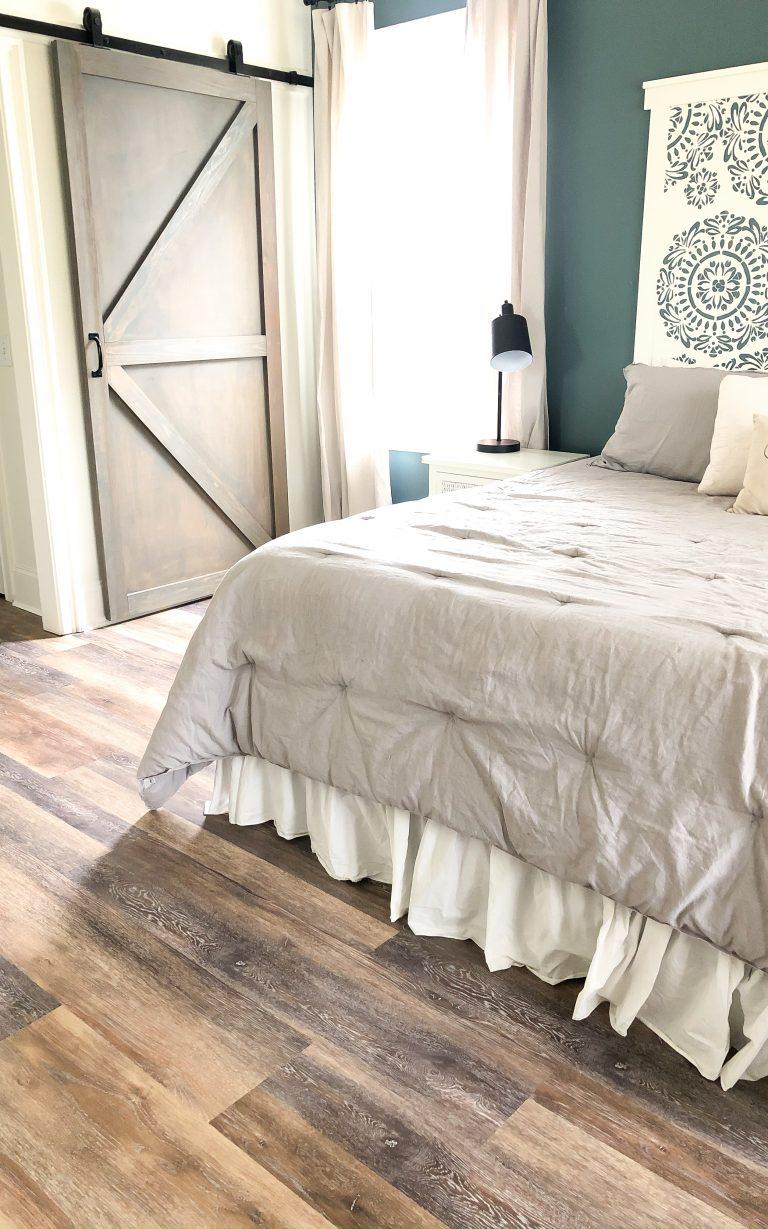 Master Bedroom Flooring- LifeProof Luxury Vinyl Plank
