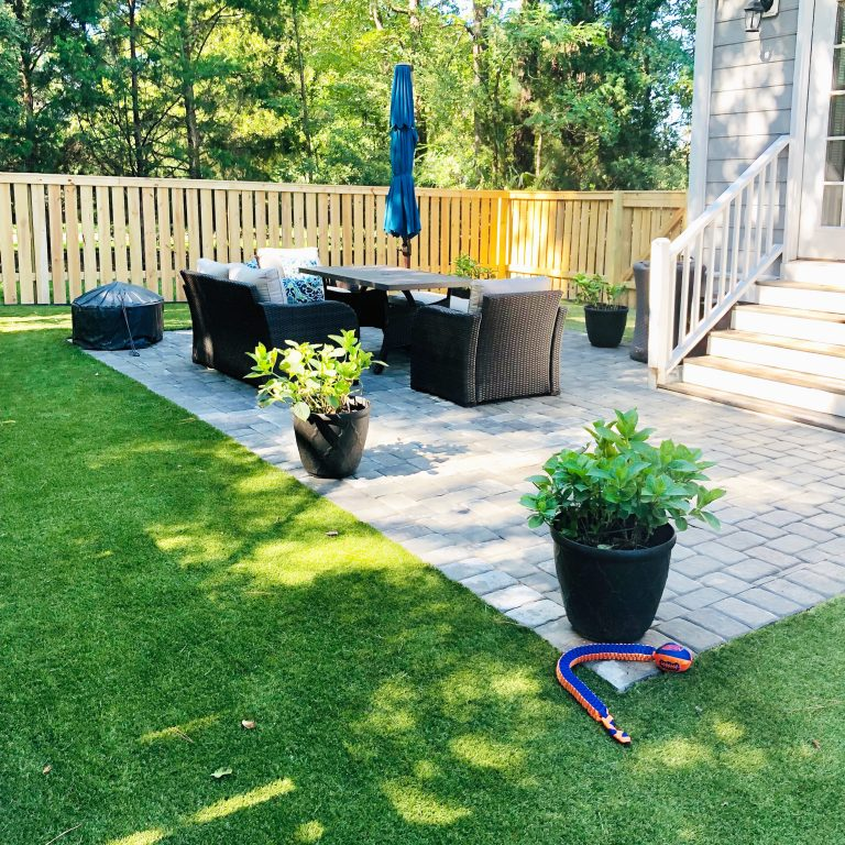 Why we chose to install turf in our backyard.