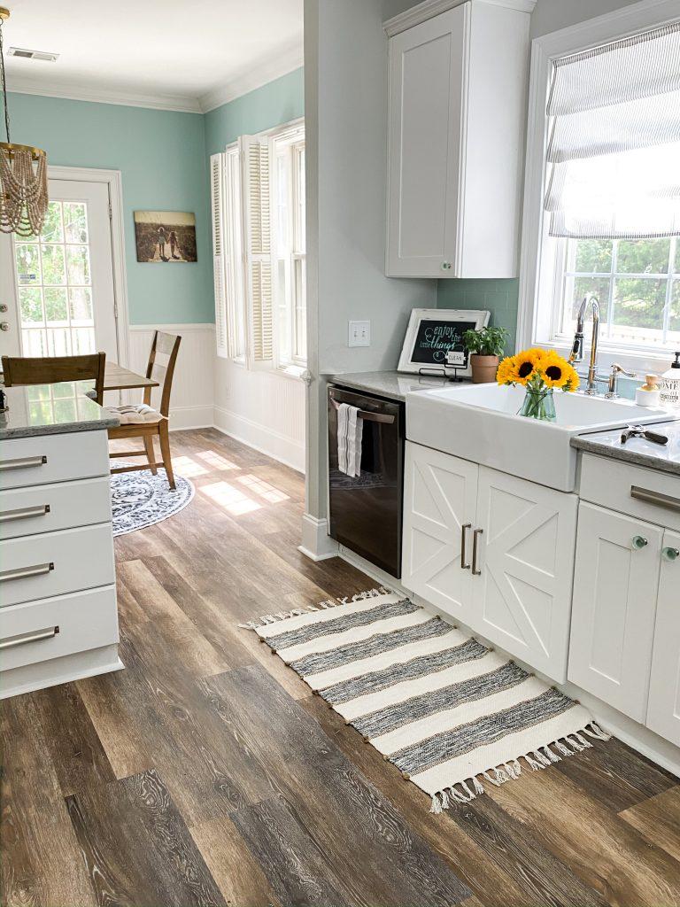 DIY Farmhouse Sink Cabinet Doors