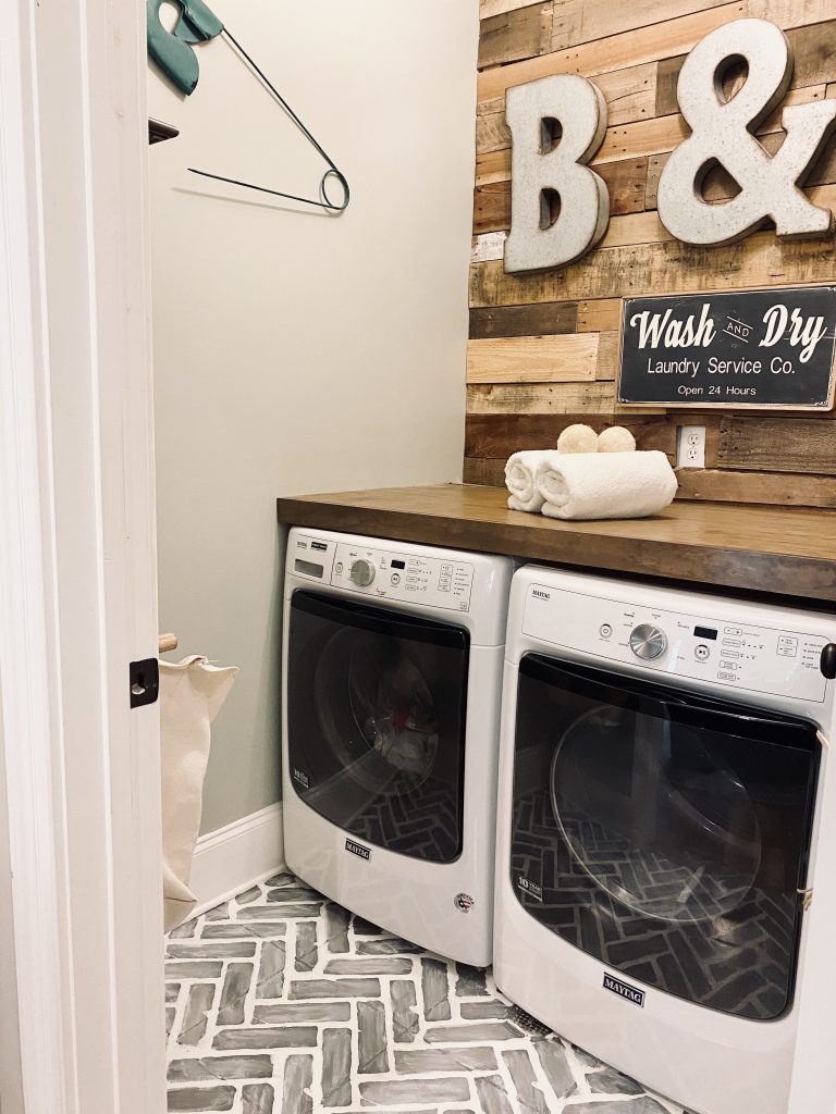 Laundry Refresh for under $100