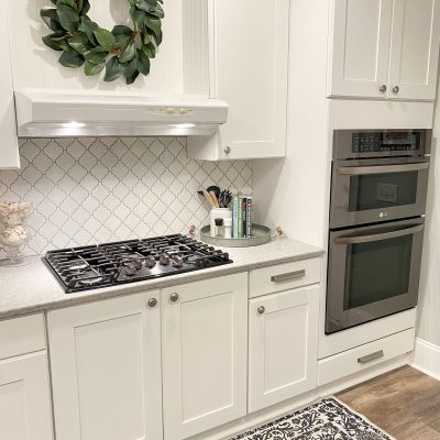 How to install kitchen backsplash tile using adhesive mat instead of thin-set mortar.