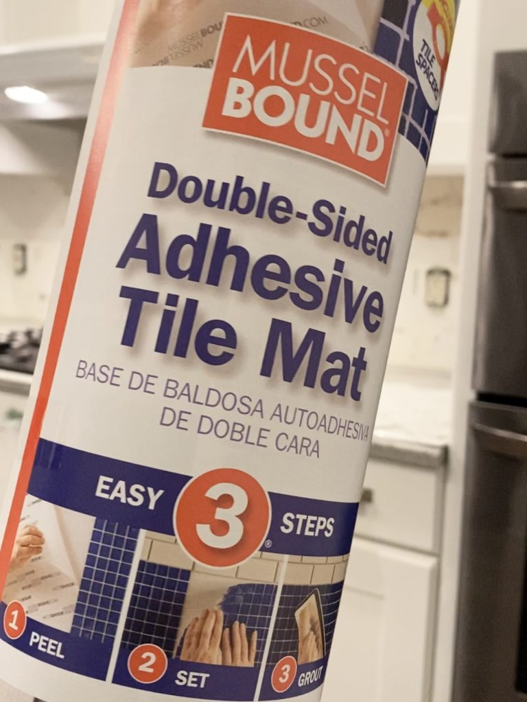 MusselBound adhesive mat
