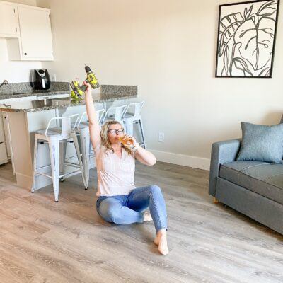 Final reveal of the beach condo renovation!
