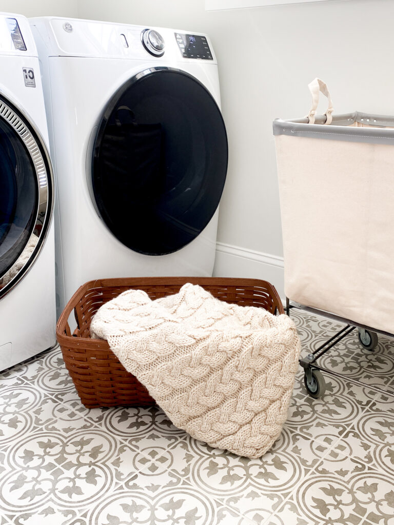 Upgrading our builder laundry room: One Room Challenge Fall 2021 Week 1